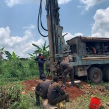 LC3 candidate drills boreholes with his own money in Kagadi