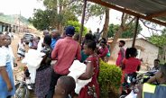 Mosquito nets distribution; Demand swallows Supply