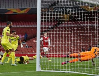 Arsenal's Europa League hopes ended by Virrareal